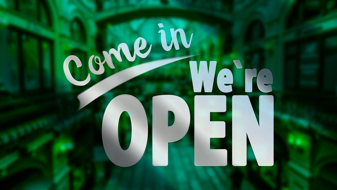 Come On In, We are Open! We Missed You!